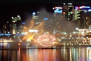 Darling Harbour Lasershow